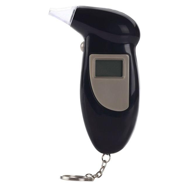 Professional Digital Breath Alcohol Tester Portable High Precision Breathalyzer