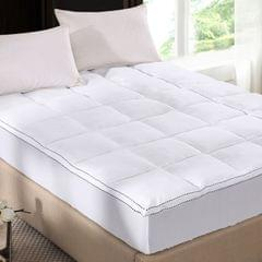 Royal Comfort 1000GSM Luxury Bamboo Fabric Gusset Mattress Pad Topper Cover - Queen