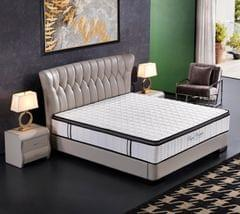 Ergopedic Mattress 5 Zone Latex Pocket Spring Mattress In A Box 30cm All Sizes - Double - White