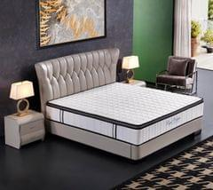 Ergopedic Mattress 5 Zone Latex Pocket Spring Mattress In A Box 30cm All Sizes - Queen - White