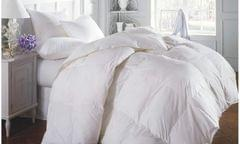 Duck Feather & Down Quilt 500GSM + Duck Feather and Down Pillows 2 Pack Combo - Single