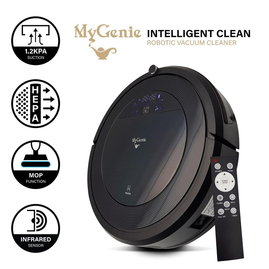 MyGenie ZX1000 Automatic Robotic Vacuum Cleaner Dry Wet Mop Sweep Rechargable