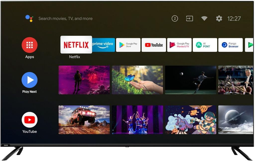 """CHANGHONG 23.6"""" LED HD DVD Combo /12V DC (U55H10)"""