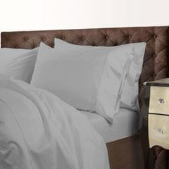 Royal Comfort 1000 Thread Count Cotton Blend Quilt Cover Set Premium Hotel Grade - Queen - Silver