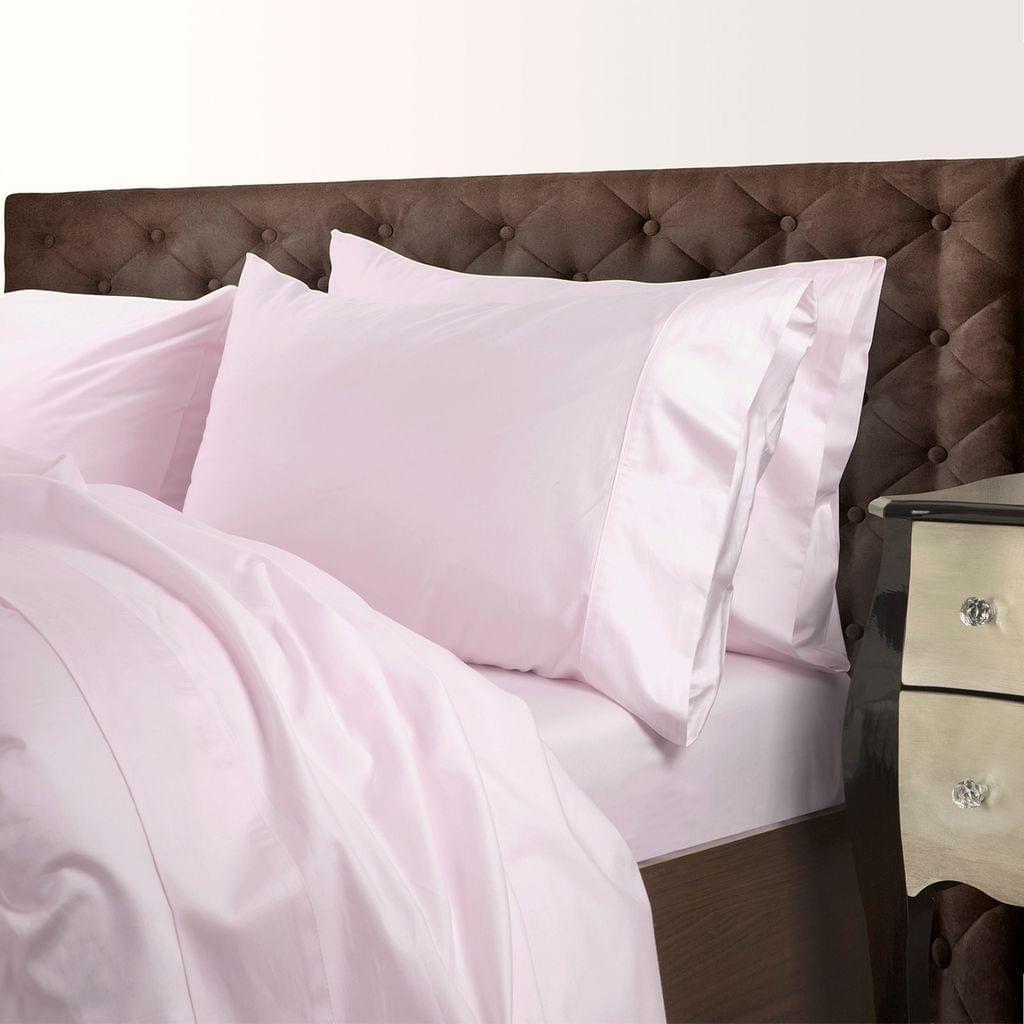 Royal Comfort 1000 Thread Count Cotton Blend Quilt Cover Set Premium Hotel Grade - Queen - Pebble