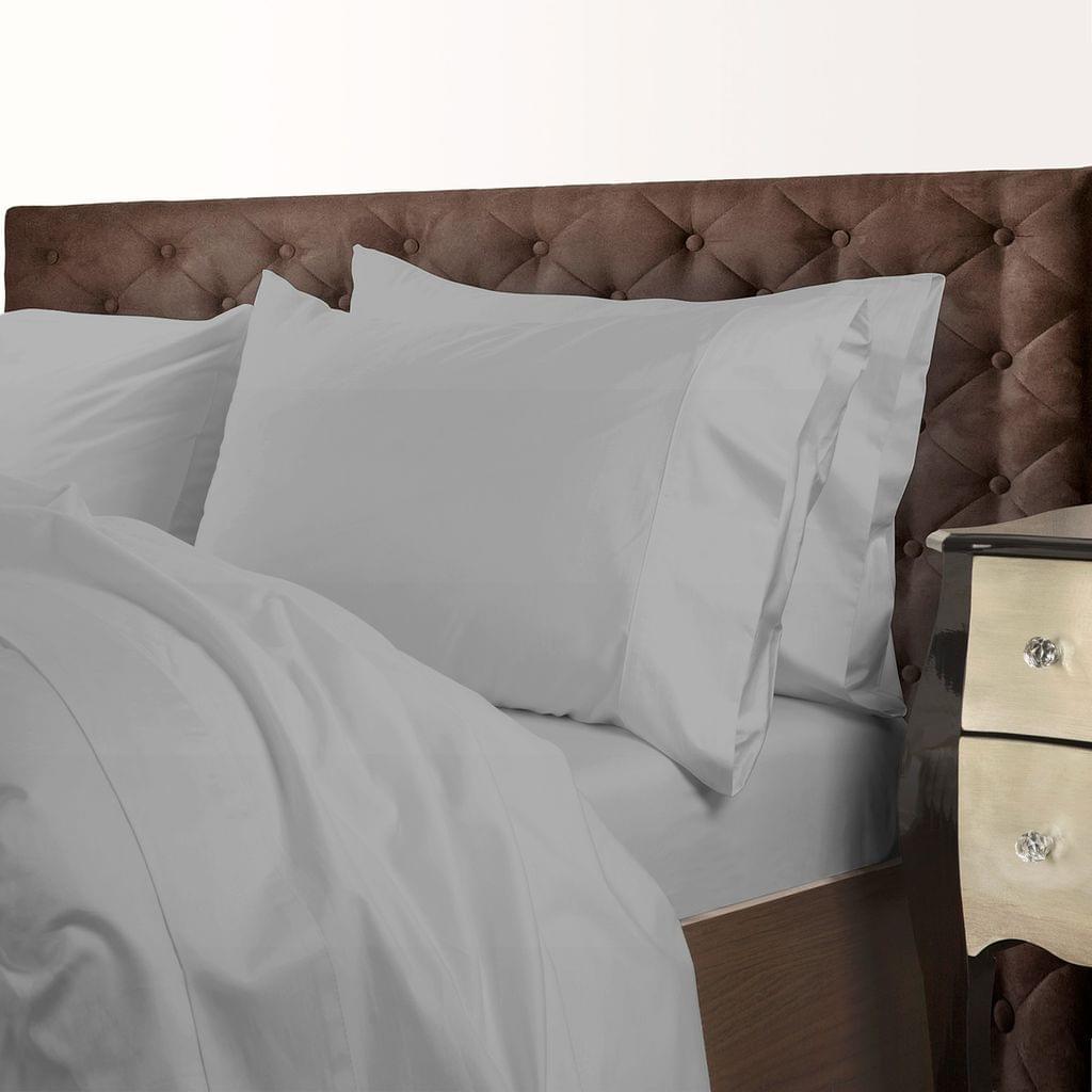 Royal Comfort 1000 Thread Count Cotton Blend Quilt Cover Set Premium Hotel Grade - King - Charcoal
