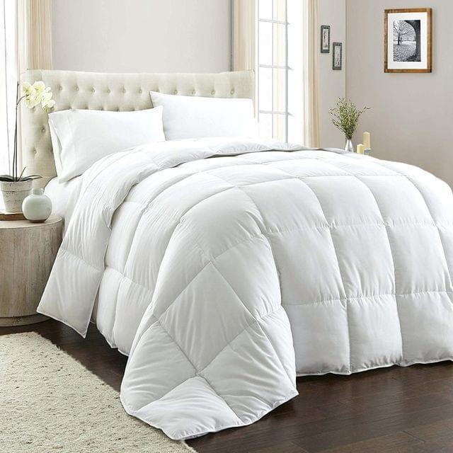 Royal Comfort 800GSM Quilt Down Alternative Doona Duvet Cotton Cover Hotel Grade - Queen