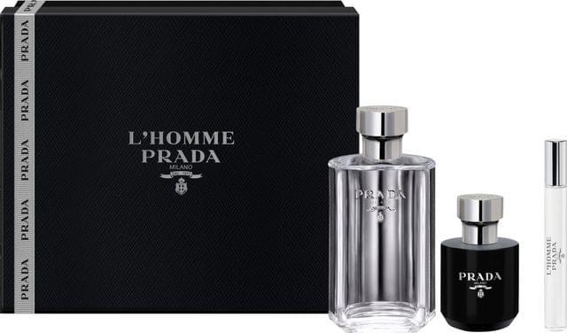 PRADA L'HOMME 3PC (100ML) EDT