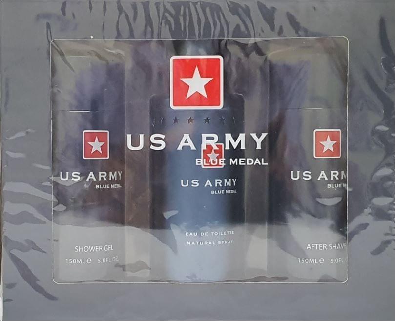 US ARMY BLUE 3PC (100ML) EDT