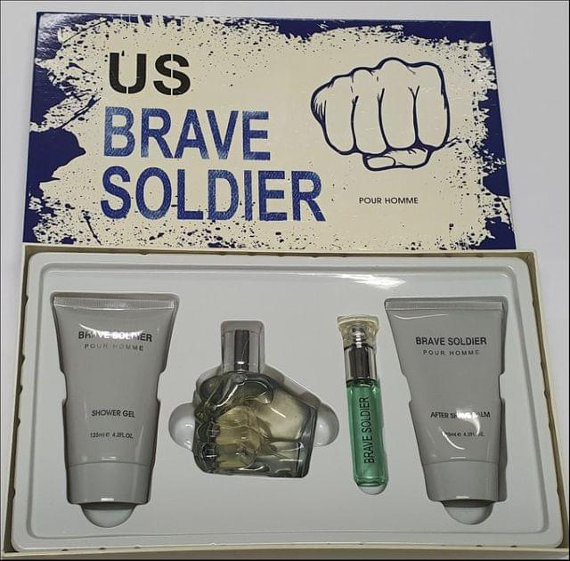 US BRAVE 4PC (100ML) EDT