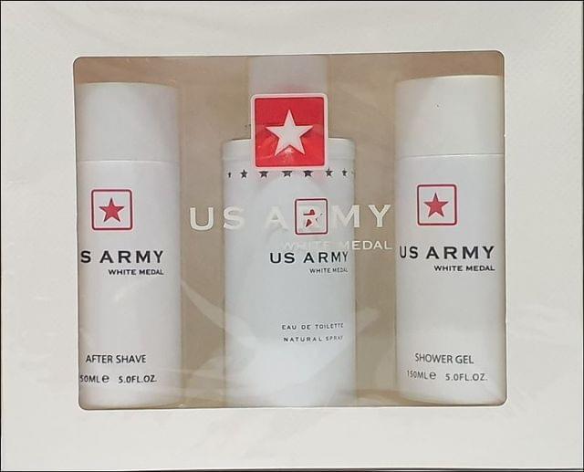US ARMY WHITE 3PC (100ML) EDT