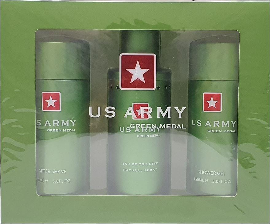 US ARMY GREEN 3PC (100ML) EDT