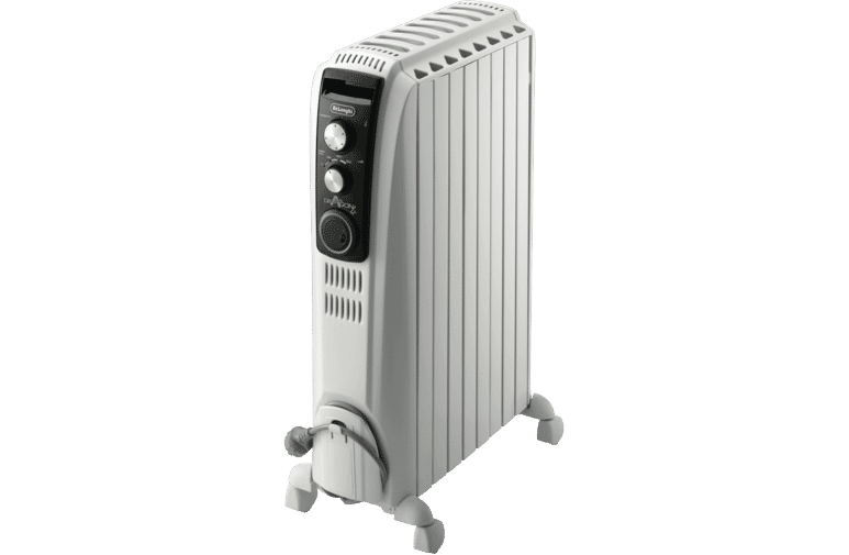 DeLonghi 1500W Dragon 4 Oil Column Heater w/Timer