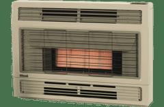 Rinnai Spectrum Inbuilt NG Beige Heater Flued