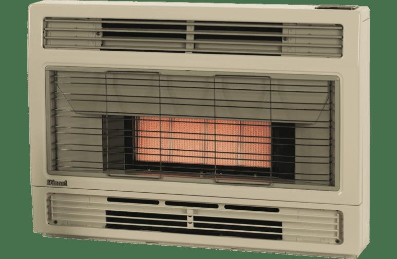 Rinnai Spectrum Console NG Beige Heater Flued