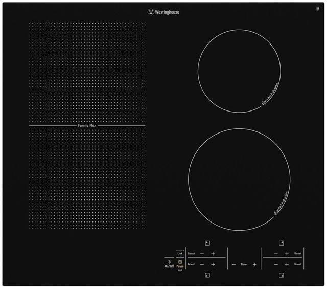 Westinghouse 60cm FamilyFlex Induction Cooktop Touch Control