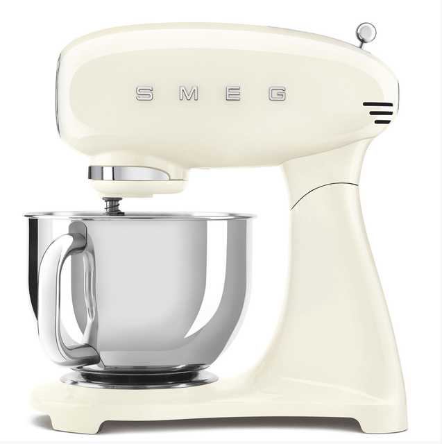 SMEG 4.8L Full Colour Electric Stand Mixer - Cream