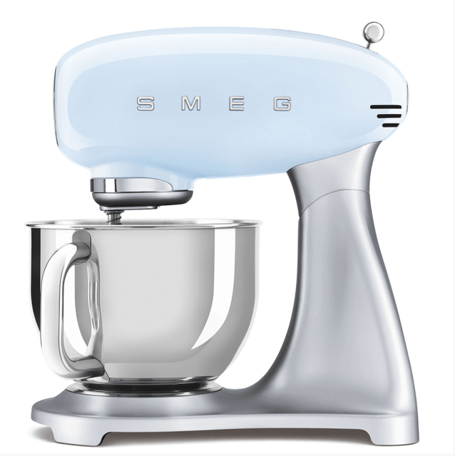 SMEG 4.8L Top Colour Electric Stand Mixer  - Pastel Blue