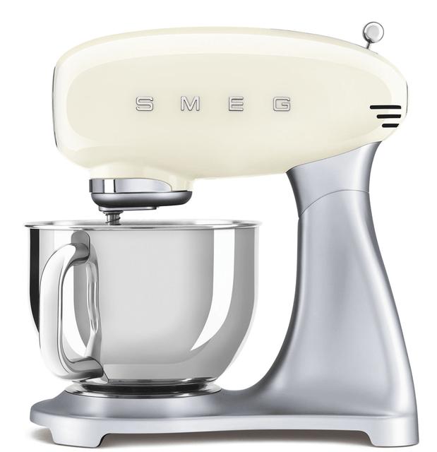 SMEG 4.8L Top Colour Electric Stand Mixer - Cream