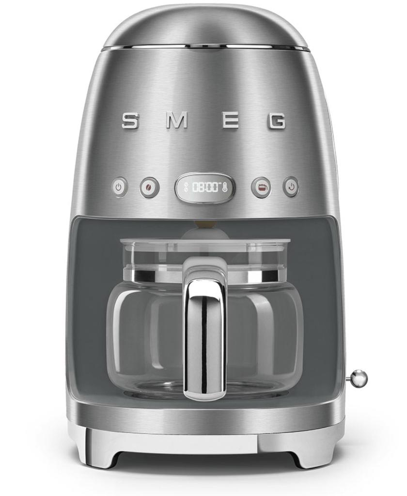 SMEG Drip Filter Coffee Machine - Brushed Metal