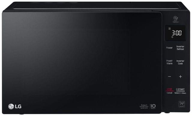 LG 23L 1000W Inverter Microwave Touch Controls Blk