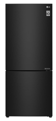 LG 454L Bottom Mount Fridge Black Steel