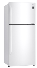 LG 442L Top Mount Refrigerator - White RHH
