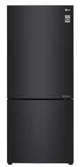 LG 454L Bottom Mount Fridge w/ Door Cooling Matte Blk