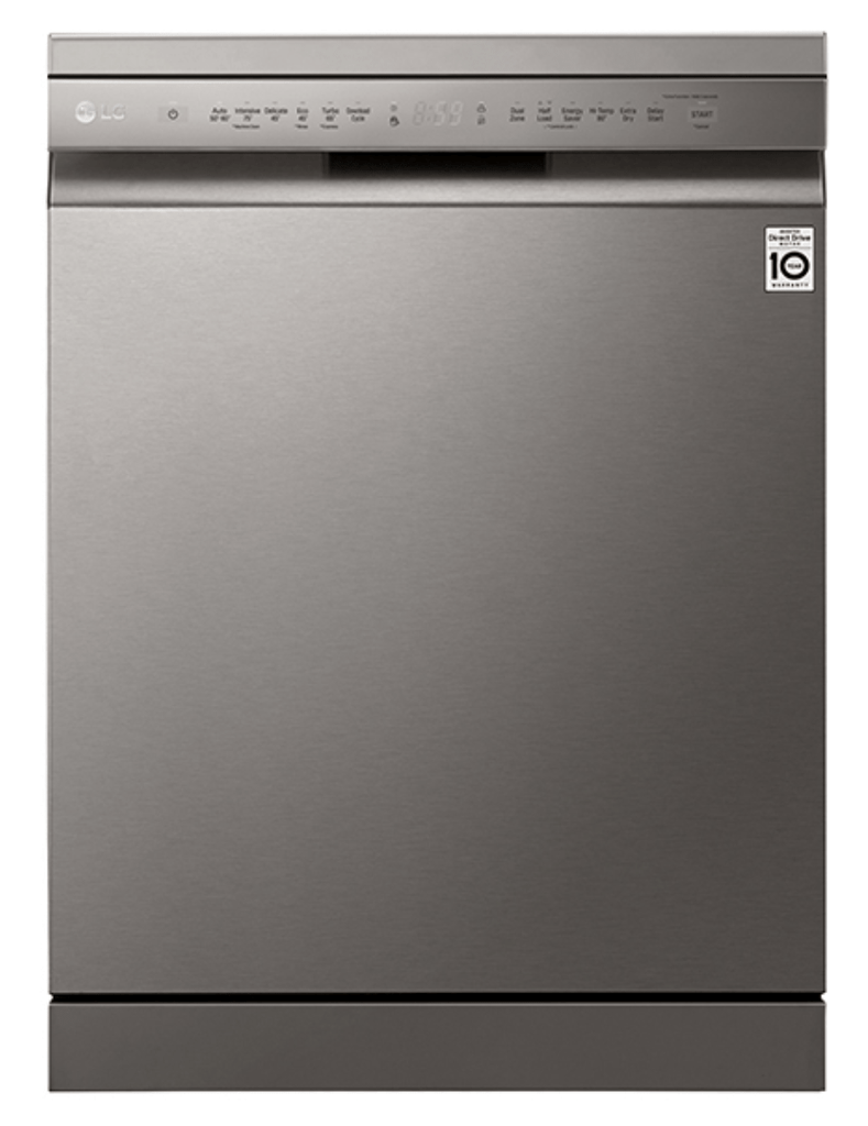 LG 60cm Freestanding Dishwasher 14 Place Settings
