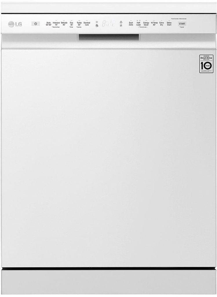 LG 60cm Freestanding Dishwasher QuadWash White