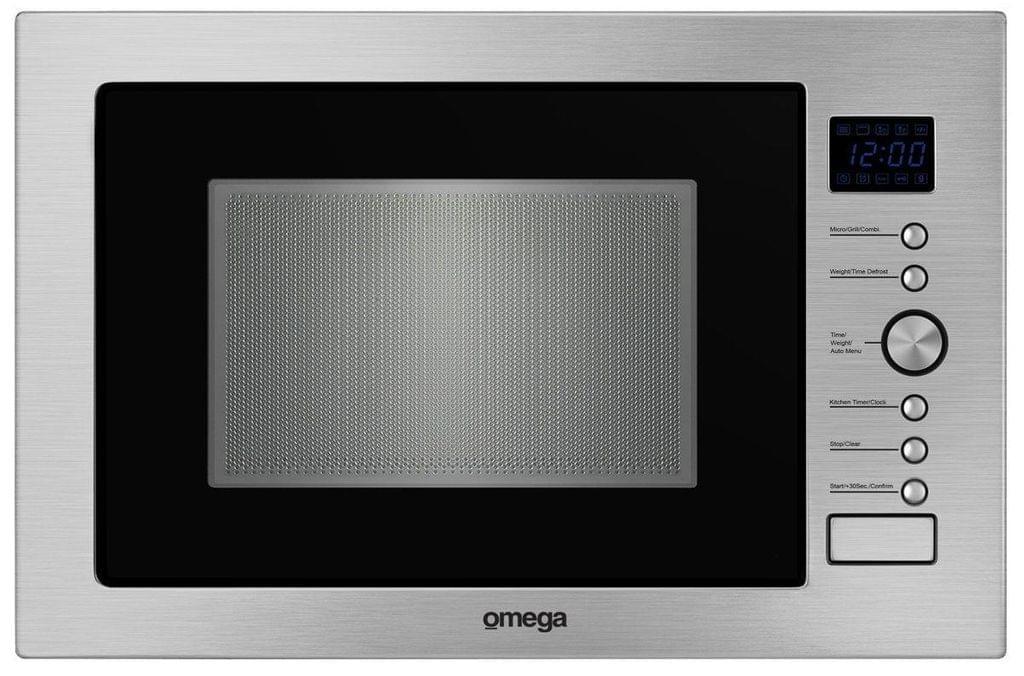 Omega 34L 1000W Microwave w/ 1100W Grill S/S