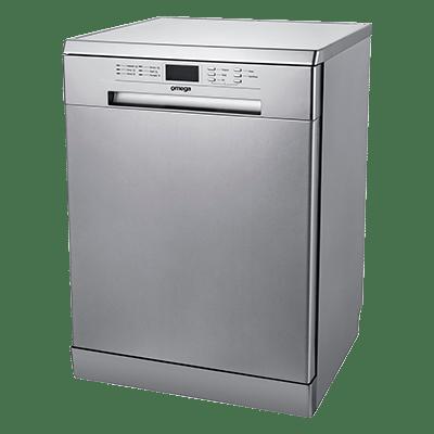 Omega 60cm Freestanding Dishwasher 4.5 WELS 3.5 En S/S