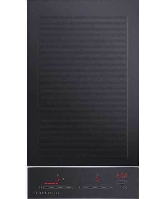 Fisher & Paykel  30cm Induction 2 Zone Cooktop S/S Trim T/Ctrl