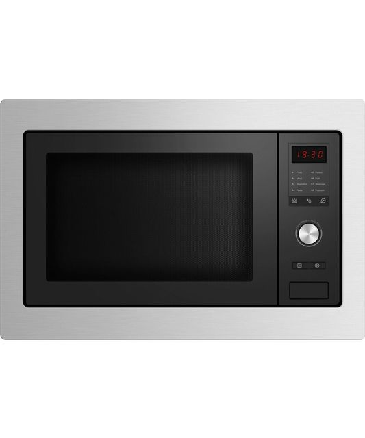Fisher & Paykel  60cm Built In Microwave with Trim S/S