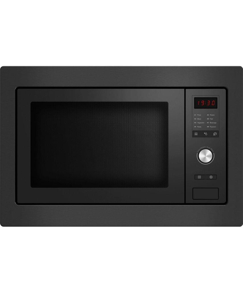 Fisher & Paykel  60cm Built In Microwave with Trim Black
