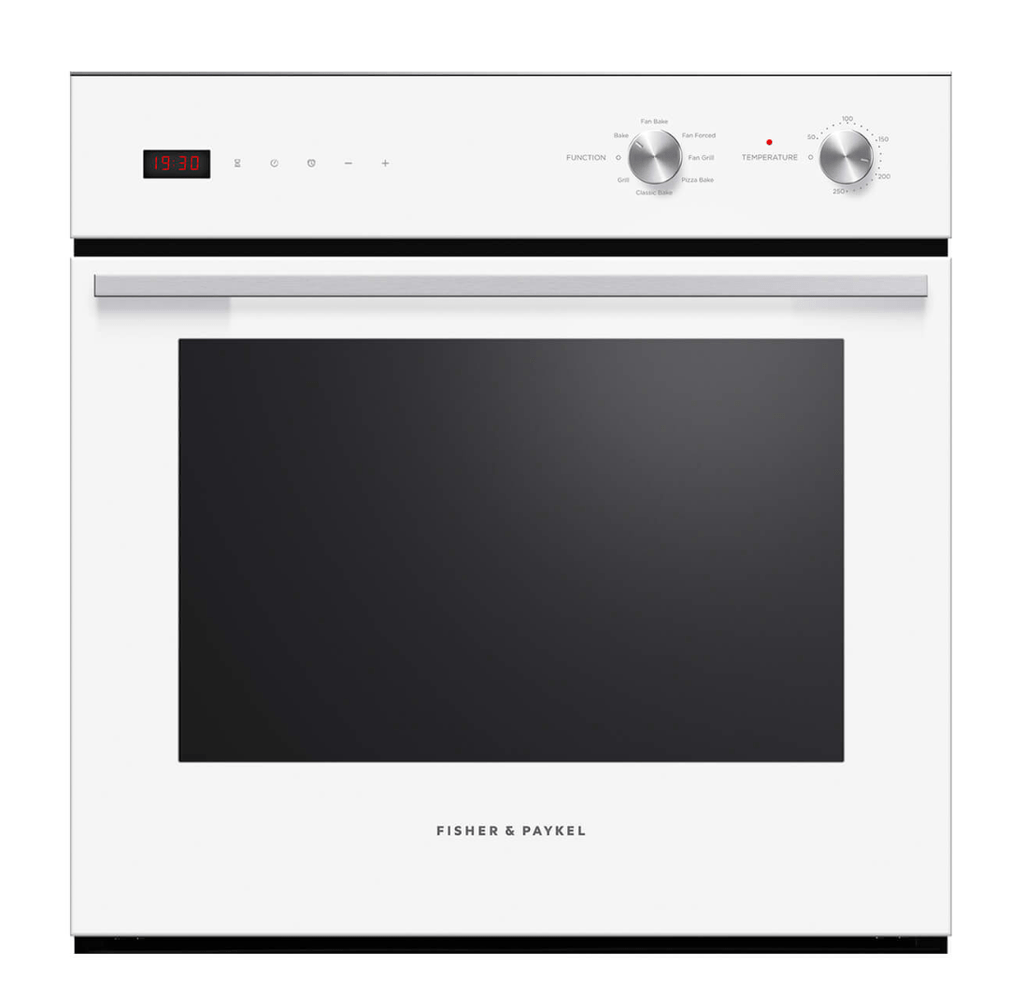 Fisher & Paykel  60cm Built-In Electric Oven 7 Functions White