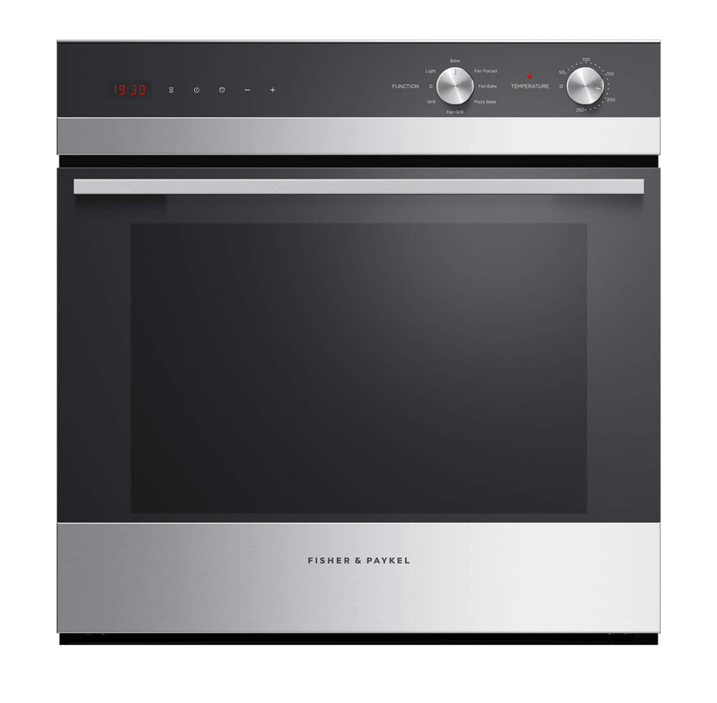 Fisher & Paykel  60cm Built-In Oven Fan Forced 6 Function