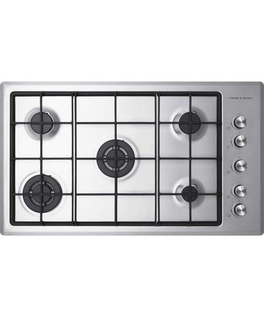 Fisher & Paykel  90cm 5 Burner Gas Cooktop LPG FF