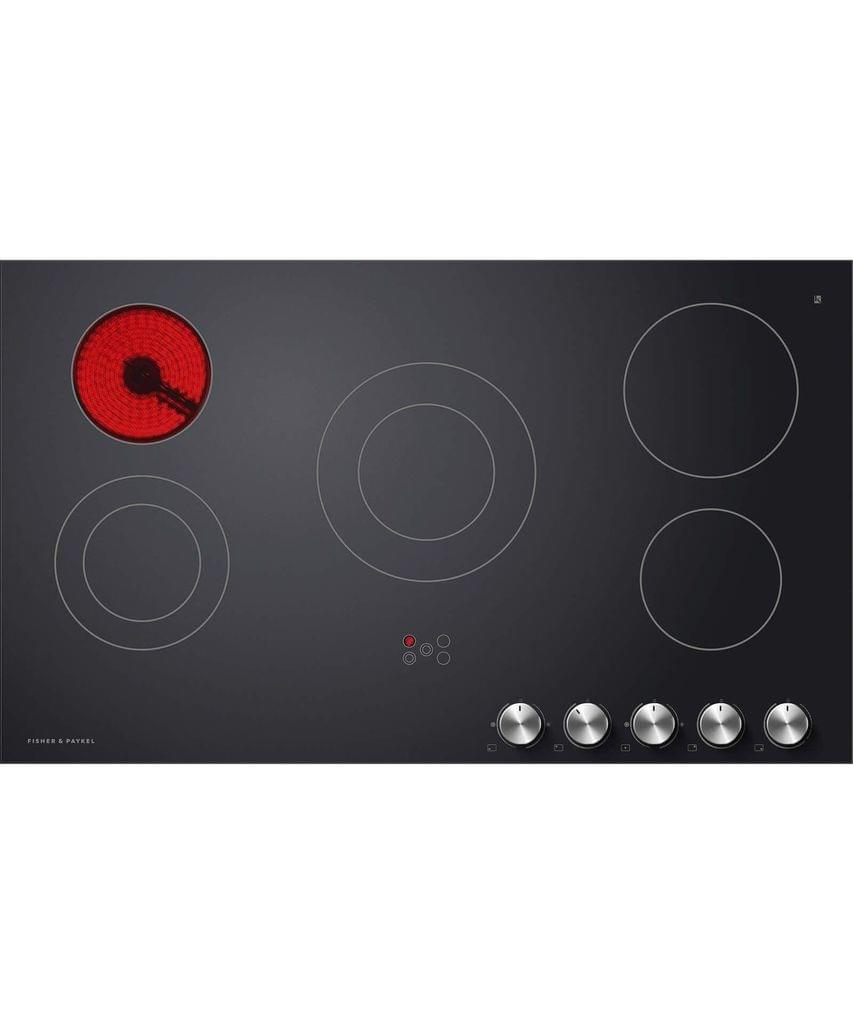 Fisher & Paykel  90cm Electric Ceran Cooktop w/ SS Front Trim
