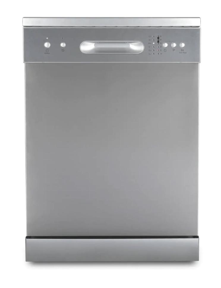 DeLonghi 60cm Freestanding Dishwasher 4.5 Star WELS S/S