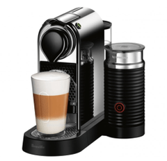 Berville CitiZ&milk Coffee Machine in Chrome