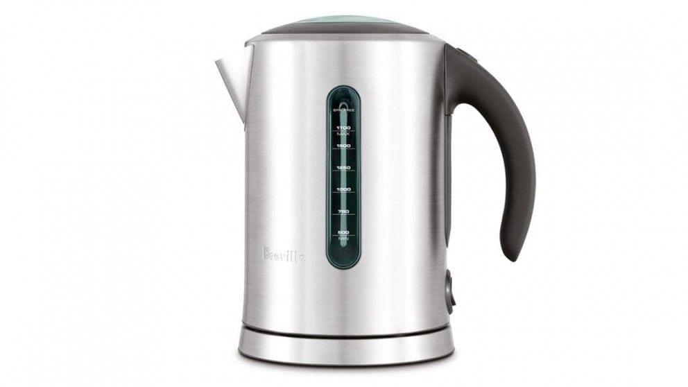 Berville Soft Top Pure Kettle - Brushed Stainless Steel