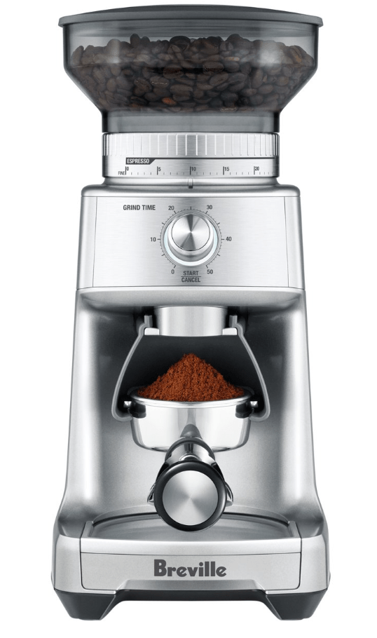 Berville the Dose Control Pro Coffee Grinder in Silver
