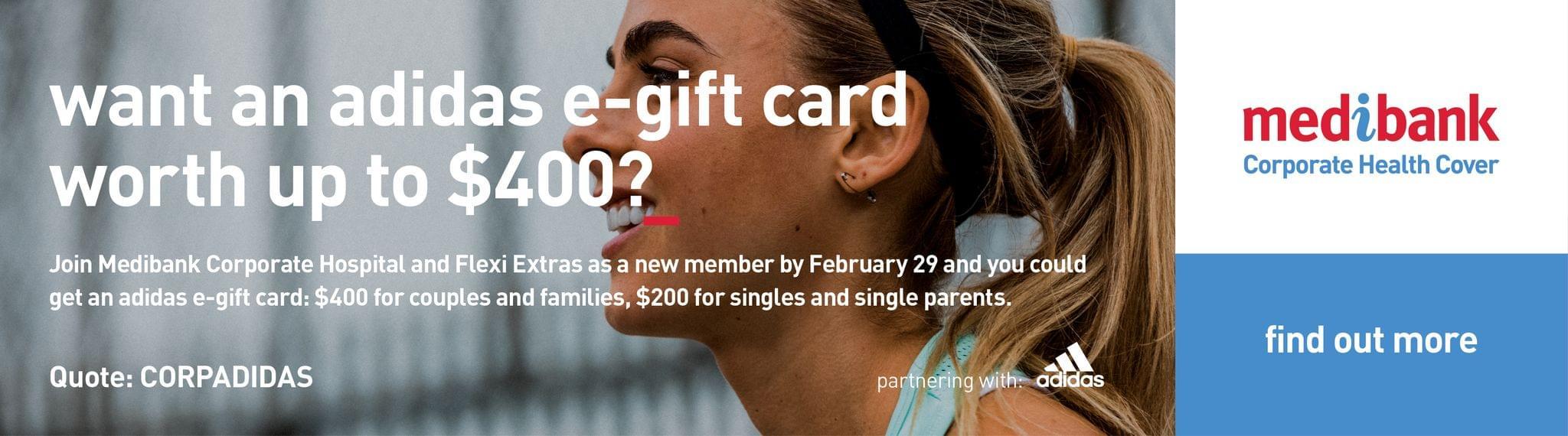 Medibank Adidas Feb 2020