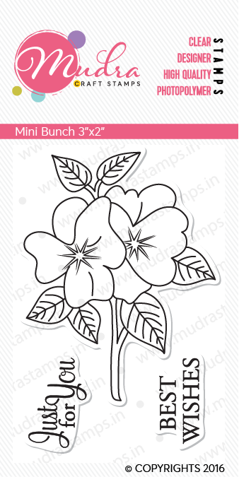 Mudra Clear Stamps -  Mini Bunch