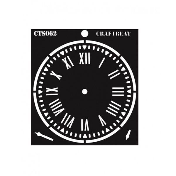 CrafTreat Stencil - Clock