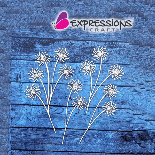 Expressions Craft - Pollen Flower