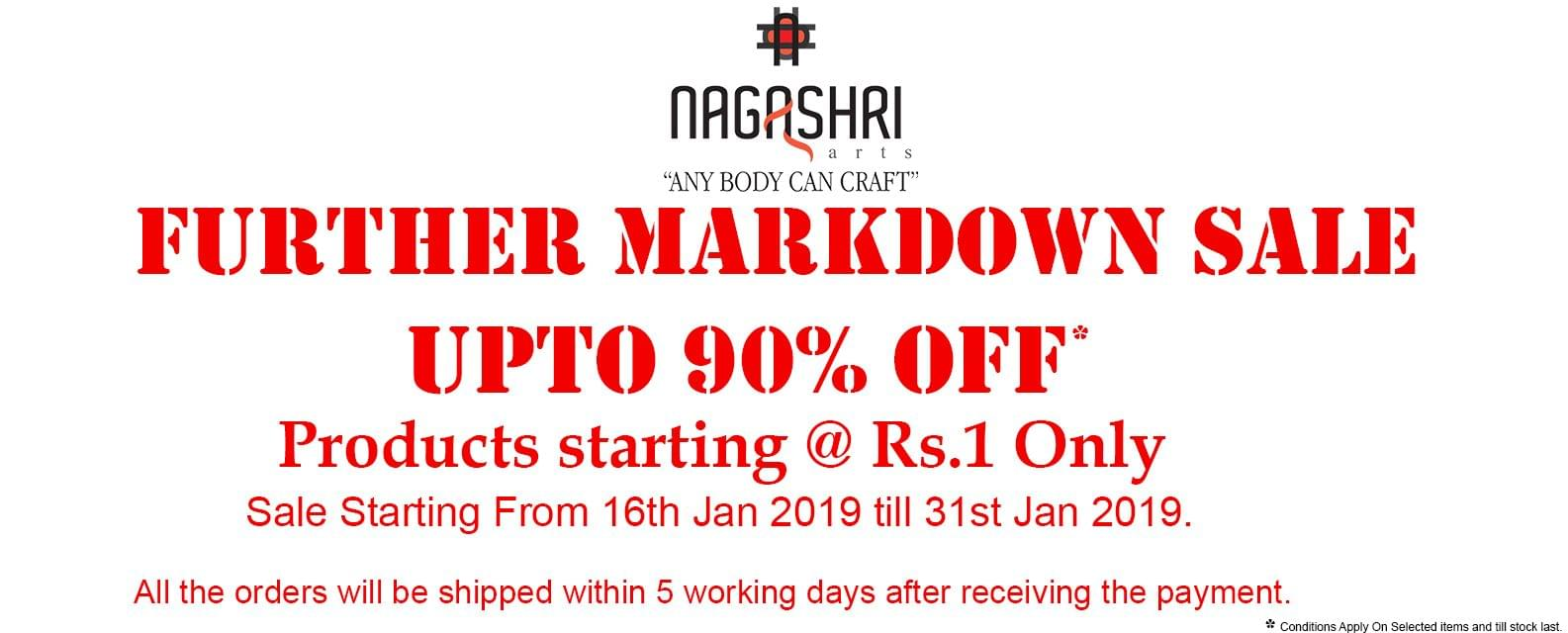 Further Markdonw Sale