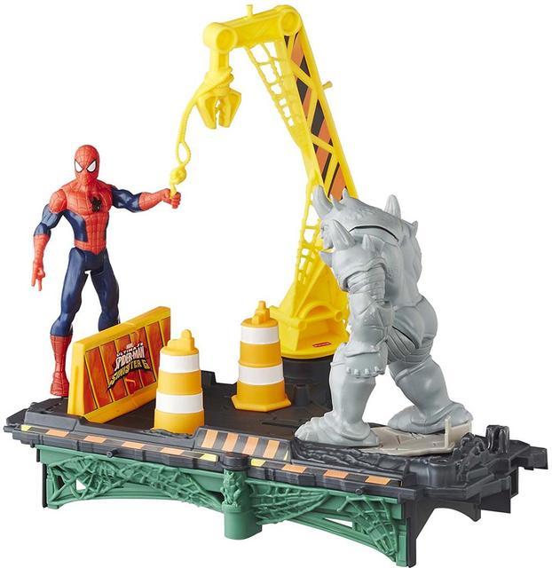 Marvel Spiderman Sinister 6, Rhino Rampage Set