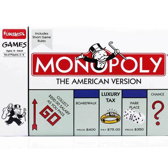 Funskool Monopoly The American Version